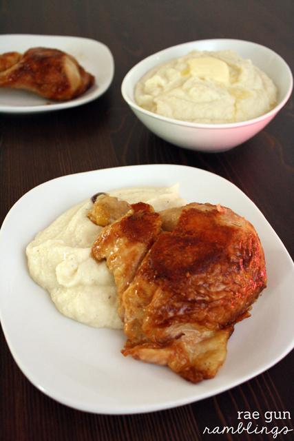 cauliflower mash and chicken - Rae Gun Ramblingscauliflower mash and chicken - Rae Gun Ramblings