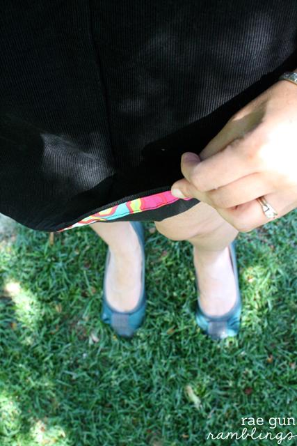 How to Draft and Sew an Aline Skirt at Rae Gun Ramblings