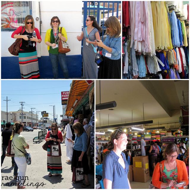 fabric shopping in la - rae gun ramblings
