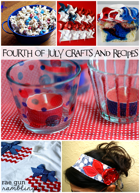 fourth of july craft and recipes - Rae Gun Ramblings