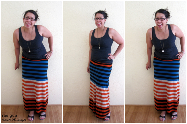 The perfect maxi Skirt - rae gun ramblings