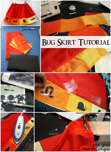 Bug Skirt Tutorial great beginner sewing project - Rae Gun Ramblings