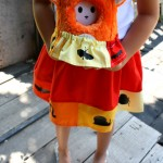 Cute and easy bug skirt tutorial for girls and stuffed animals - Rae Gun Ramblings