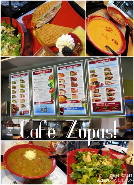 What S For Dinner Cafe Zupas Edition Rae Gun Ramblings
