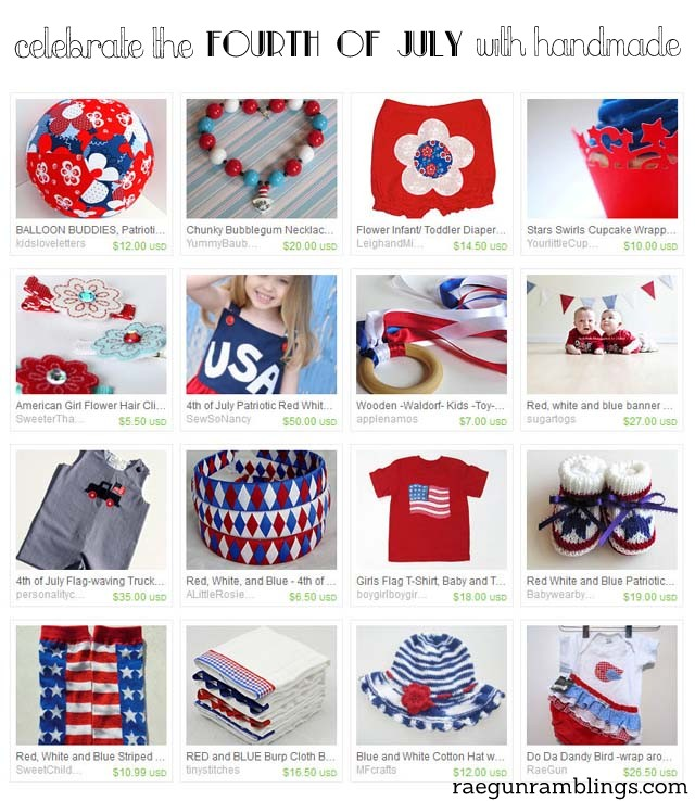 Treasury Love: Handmade Fourth of July