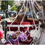 princess festival carriage ride - Rae Gun Ramblings