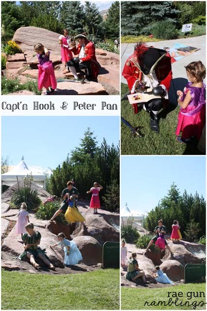 Captain Hook and Peter Pan - Rae Gun Ramblings