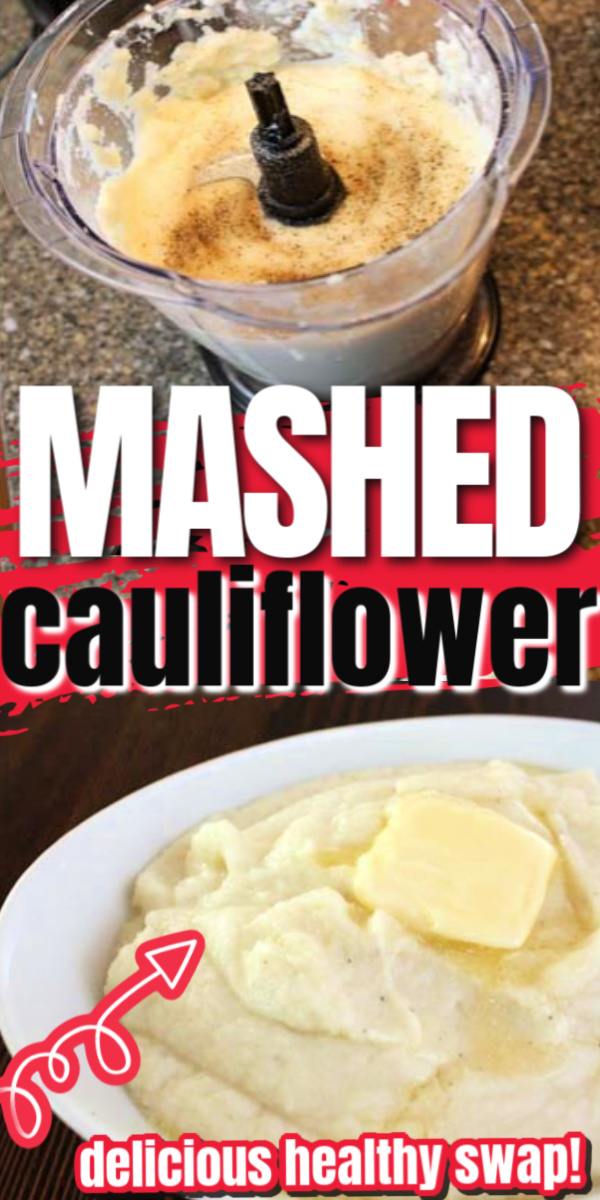Easy and delicious Mashed Cauliflower recipe. So good you won't even miss the potatoes. We love this for family dinners. via @raegun