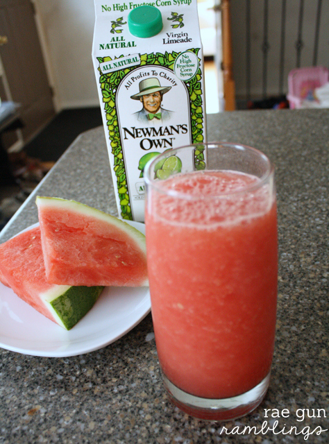 delicious watermelon lime cooler recipe - Rae Gun Ramblings