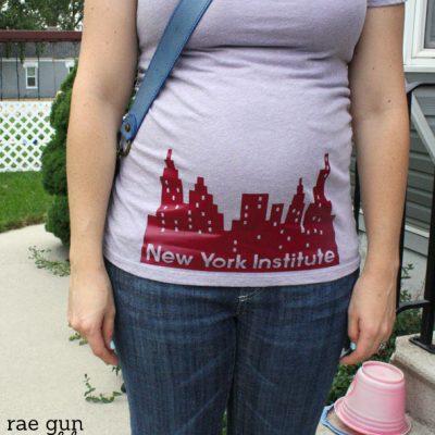 CIty of Bones Movie and New York Institute Shirt Tutorial