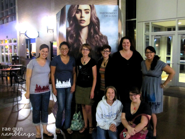 #cityofbones movie review and fan shirt tutorial - Rae Gun Ramblings