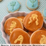 Make your own golden drachmas or son of poseidon cookies for your favorite #percyjackson fan - Rae Gun Ramblings