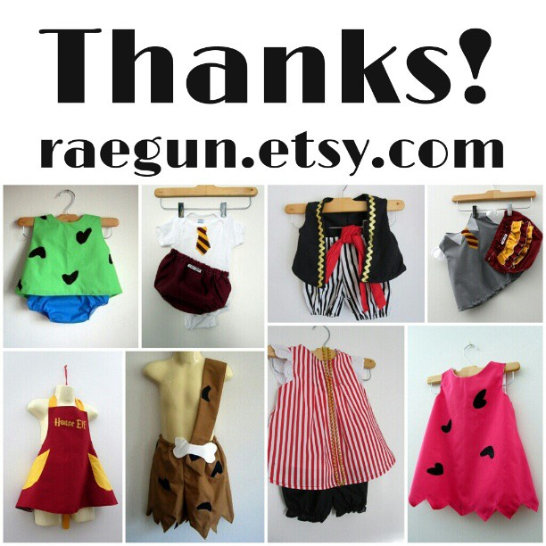 Rae Gun Costume options for 2013 on Etsy raegun.etsy.com