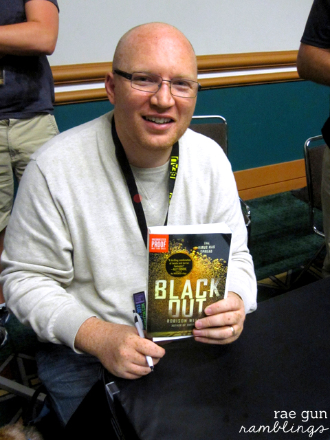 Black Out by Robinson Wells great Young Adult book with fun powers and a dystopian setting - Rae Gun Ramblings