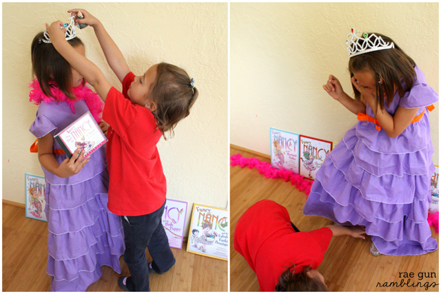 Fancy Nancy Dress Tutorial DIY Costume - Rae Gun Ramblings