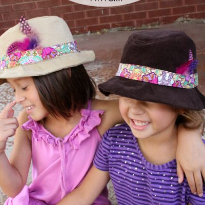 Child Size Fedora Pattern Review