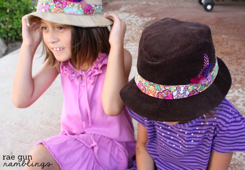 Kid size fedora hat pattern. The Possibilities are endless - Rae Gun Ramblings