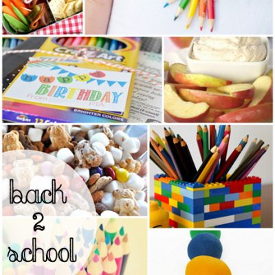 Block Party Link Party: Back to School Features