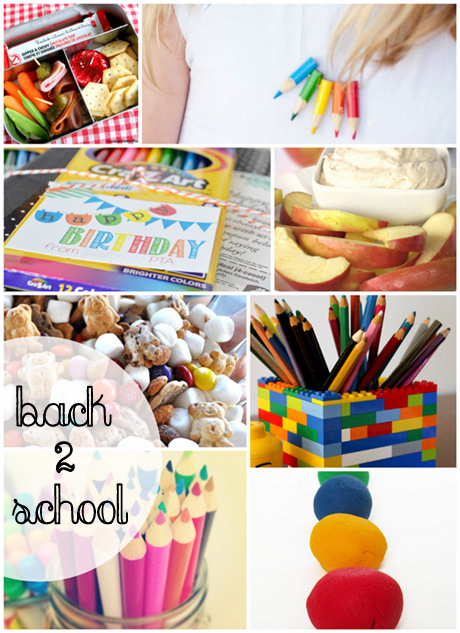 Great back to school projects and snack ideas