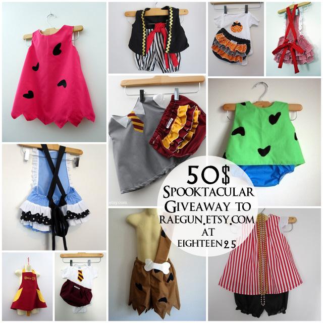 Halloween COstumes for babies and toddlers raegun.etsy.com - Rae Gun Ramblings