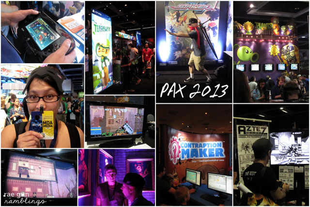 pax 2013 great #videogames #paxprime - Rae Gun Ramblings