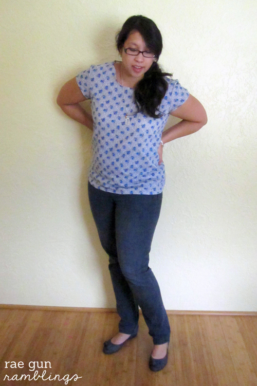 DIY blouse simple sewing - Rae Gun Ramblings