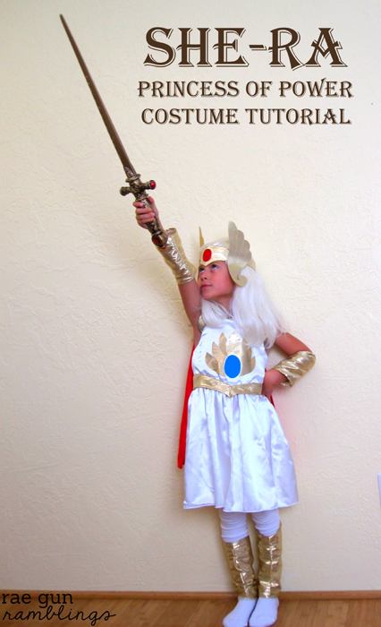 How to make your own She-Ra Princess of Power #halloween #costume - Rae Gun Ramblings