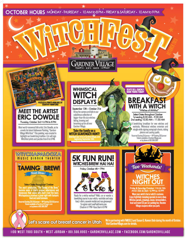Gardner Village Witch Fest Schedule