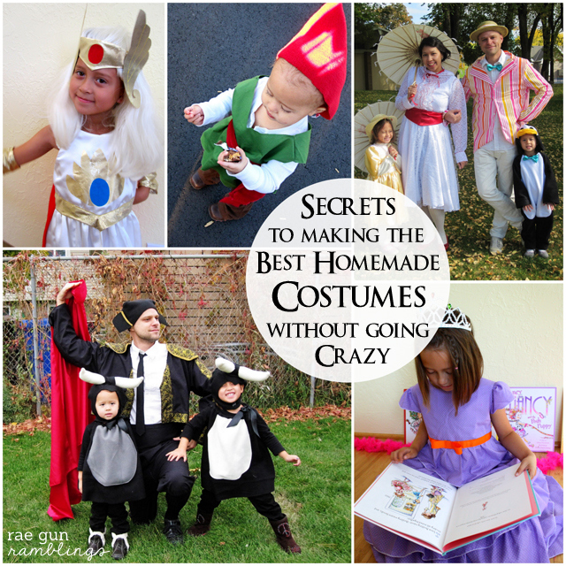 Super great list of awesome tips for homemade Halloween Costumes - Rae Gun Ramblings