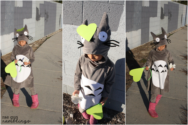 Totoro Halloween costume - Rae Gun Ramblings #anime #totoro #sewing