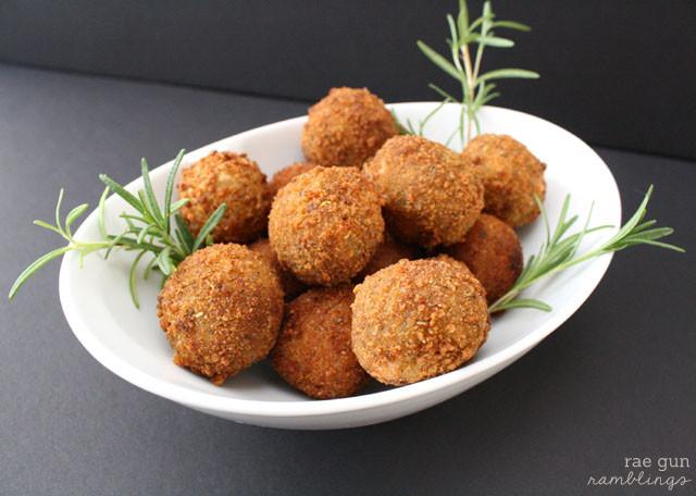 Cheesey Potato and Meat Croquettes - Rae Gun Ramblings #shop #FreshTake #potato #recipe #thanksgivng