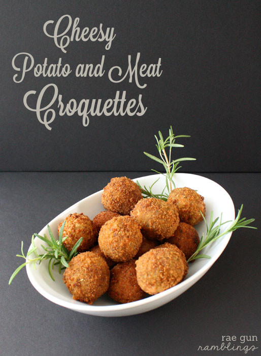 Cheesey Potato and Meat Croquettes recipe - Rae Gun Ramblings #potatoes #beef #shop #FreshTake #Thanksgiving #cbias