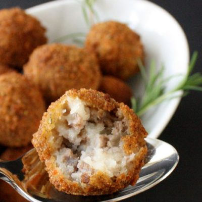 Cheesy Potato and Meat Croquettes Recipe with Kraft Fresh Take