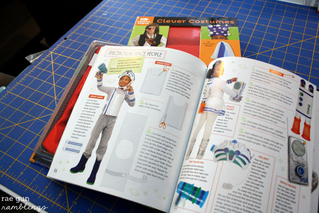 Make super unique costumes from every day household items. Clever Costumes Book - Rae Gun Ramblings