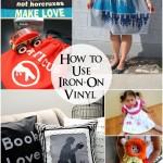 How to make custom vinyl iron-ons - Rae Gun Ramblings #cricut #craft #diy