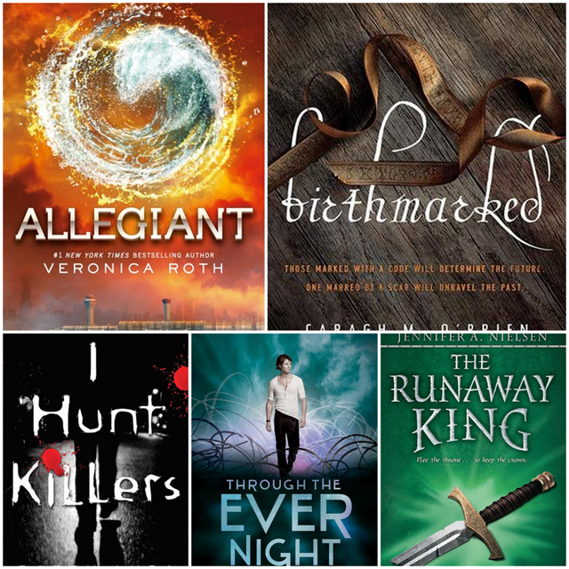 What I've Been Reading Allegiant and More