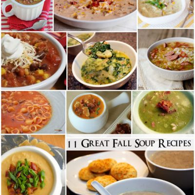 11 Easy Soup Recipes Great for Fall