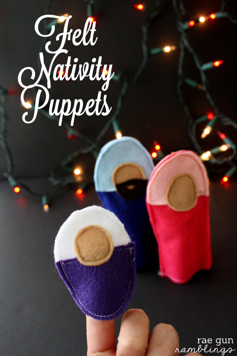 Simple Sewing Felt Nativity Puppets - Rae Gun Ramblings #christmas #holiday #craftsSimple Sewing Felt Nativity Puppets - Rae Gun Ramblings #christmas #holiday #crafts