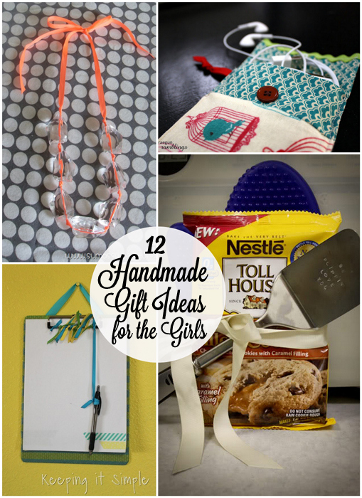12 Handmade Girlfriend Gift Tutorials at Rae Gun Ramblings