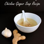 3 Ingredient Crock Pot Chicken and Ginger Soup perfect for when sick at Rae Gun Ramblings #Kleenextarget #PMedia #ad