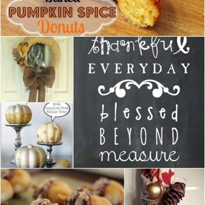 Block Party: Thanksgiving Craft Ideas and Recipe Features