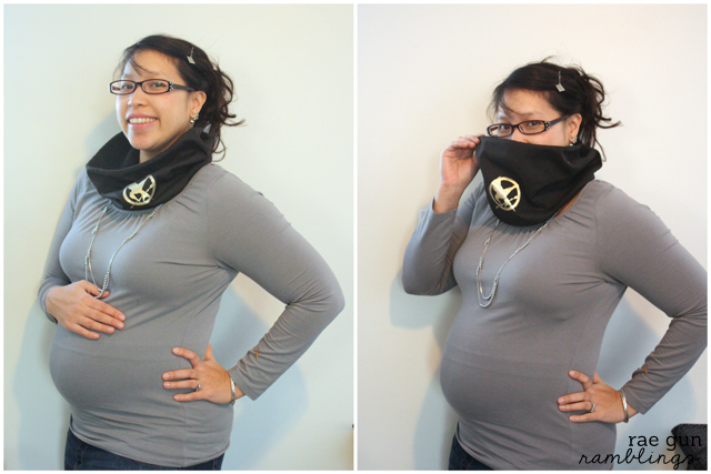 Mockingjay Cowl - Rae Gun Ramblings