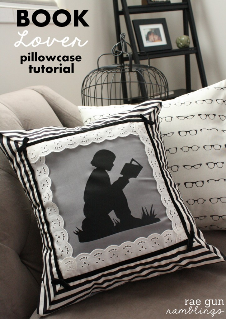 Book Lover Night Circus Pillowcase Tutorial - Rae Gun Ramblings