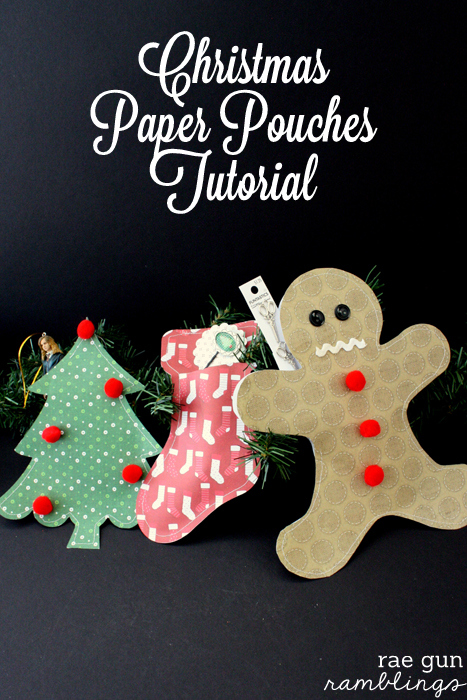 Christmas Paper Packages fun gift wrapping idea