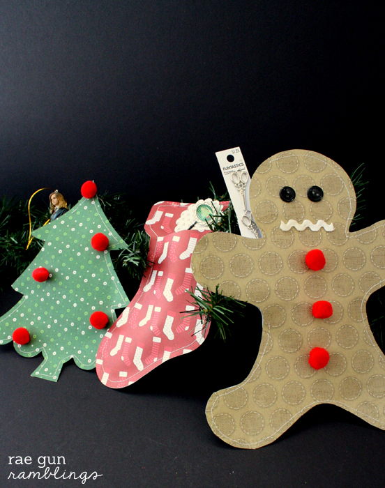 Christmas Paper Packages tutorial - Rae Gun Ramblings #papercraftedchristmas