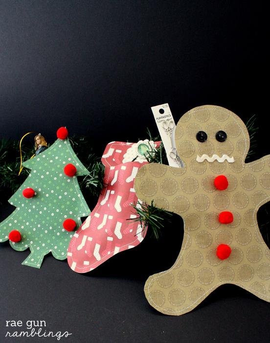 Christmas Paper Packages tutorial - Rae Gun Ramblings