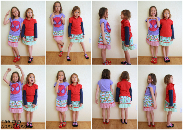 Kid ruffle skirt tutorial. Perfect beginning sewing project - Rae Gun RamblingsKid ruffle skirt tutorial. Perfect beginning sewing project - Rae Gun Ramblings