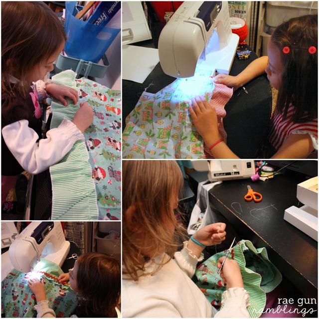 Sewing with Kids: Easy Ruffle Skirt Tutorial - Rae Gun Ramblings