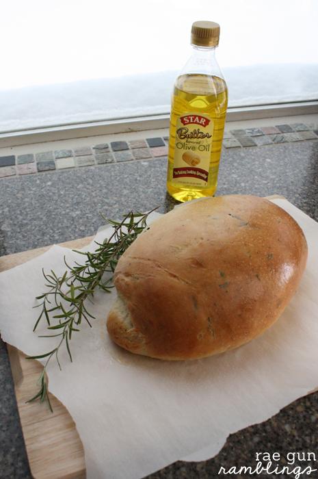 Macaroni Grill Copy Cat Bread Recipe Ingredients - Rae Gun Ramblings #STAROliveOil #shop #cbias