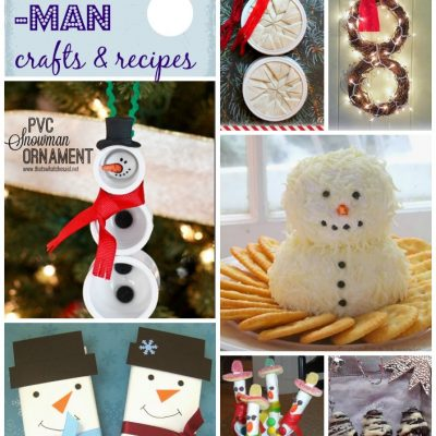 Block Party and Snowman Crafts & Recipes Features